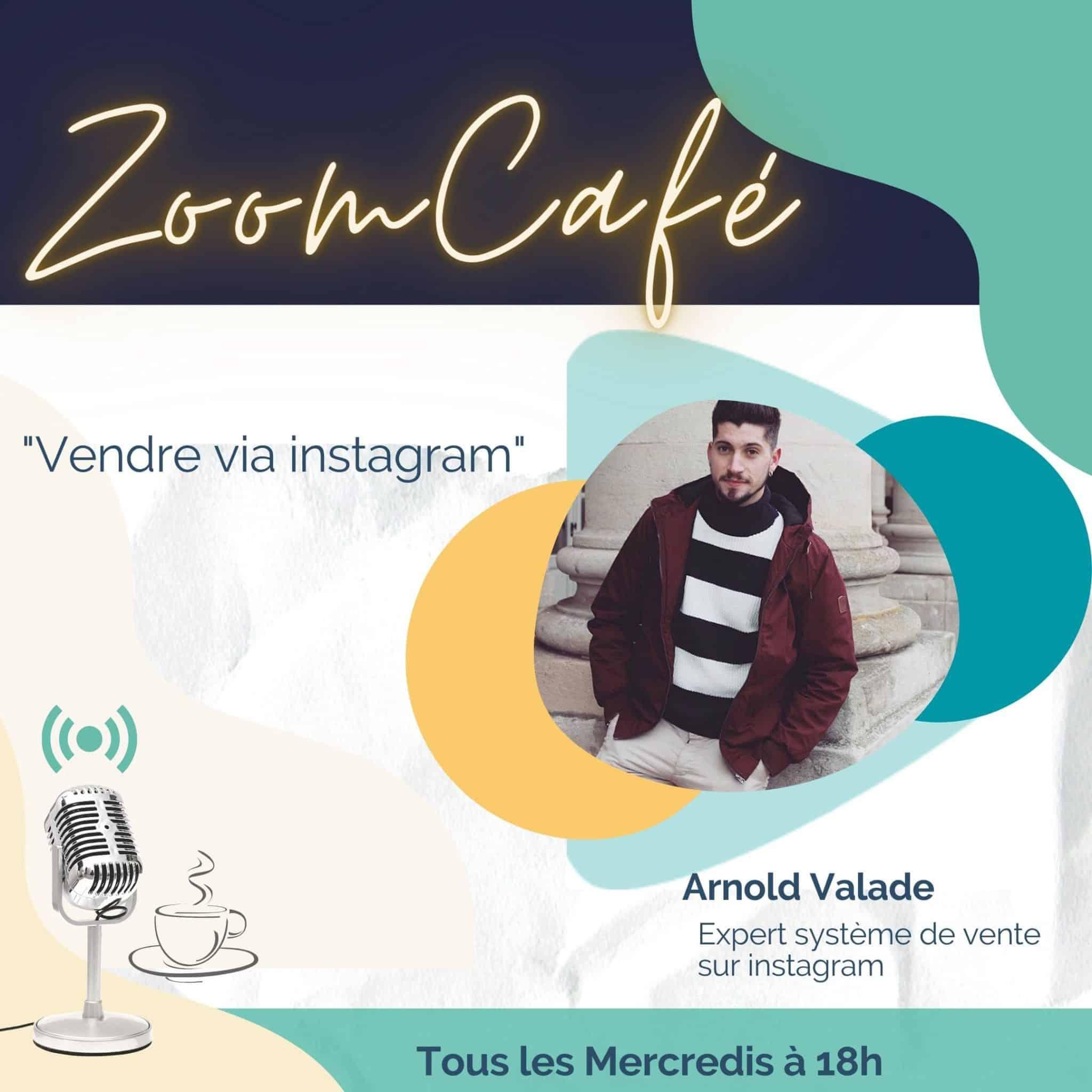 zoomcafe vente sur instagram